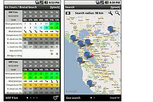windguru on Android