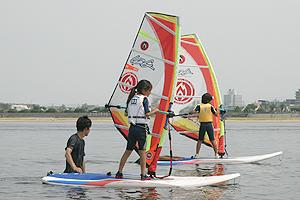 20110724 キッズウインドサーフィン