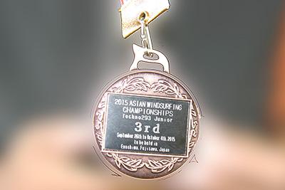 アジア選手権medal